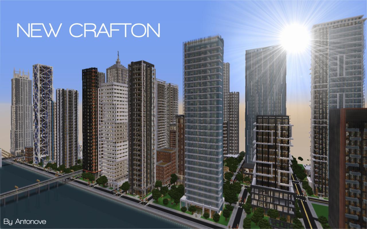 Fr Minecraft Map Minecraft New Crafton