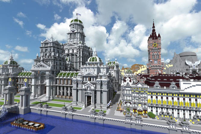 Fr Minecraft Map Minecraft Imperial City 14 1