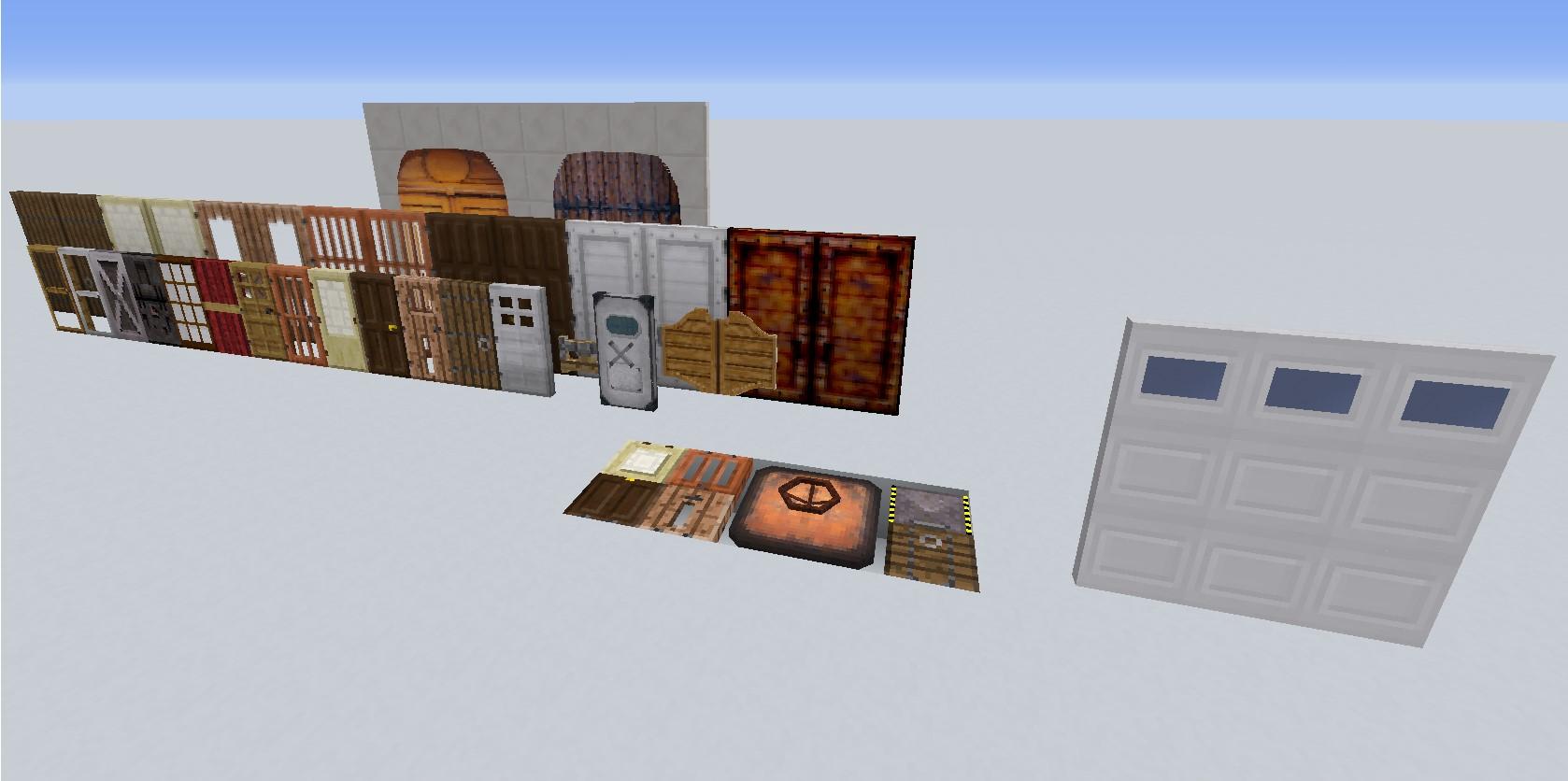 Fr Minecraft Mod Minecraft Malisisdoors