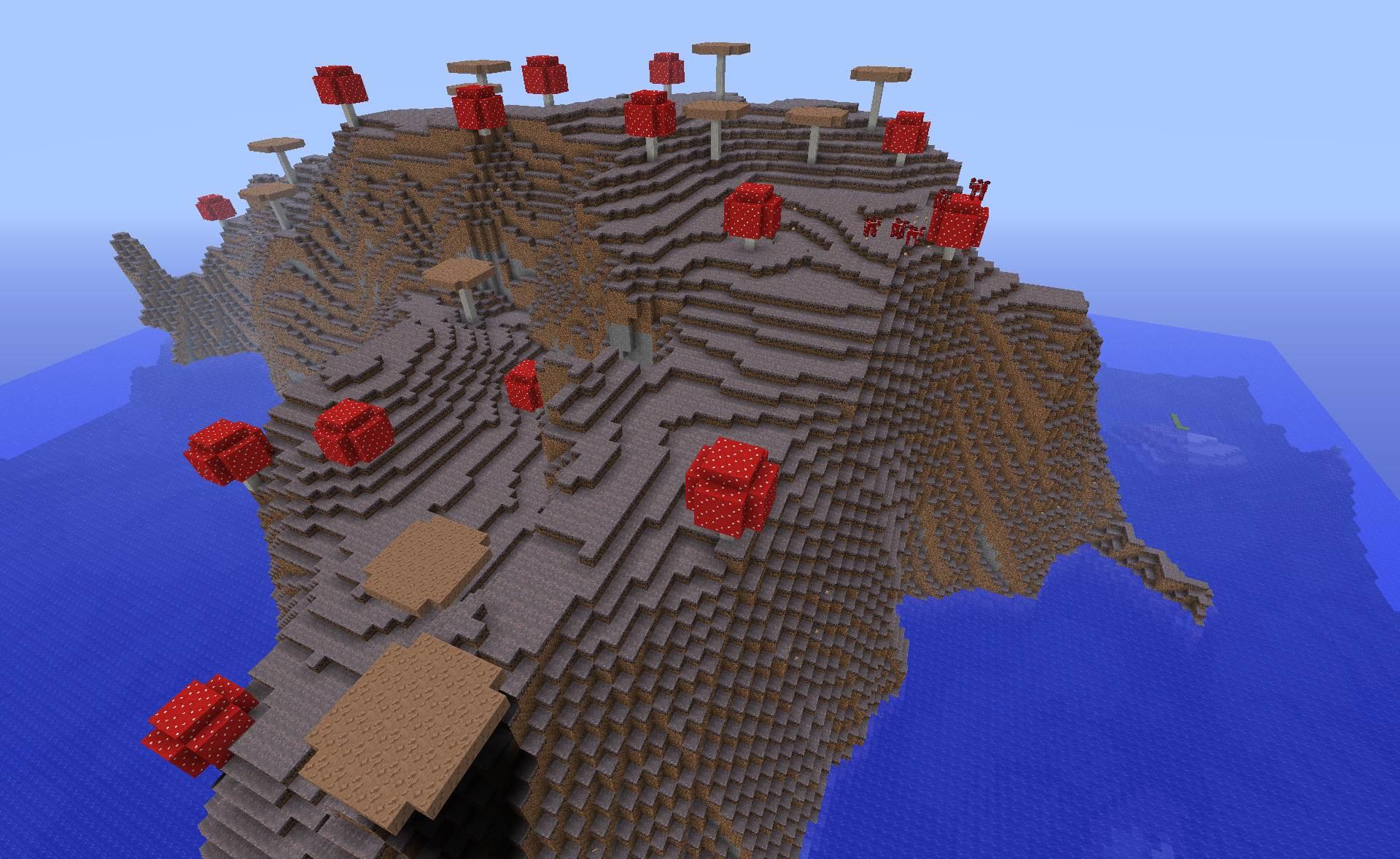 Minecraft Seed Minecraft Biome Champignon