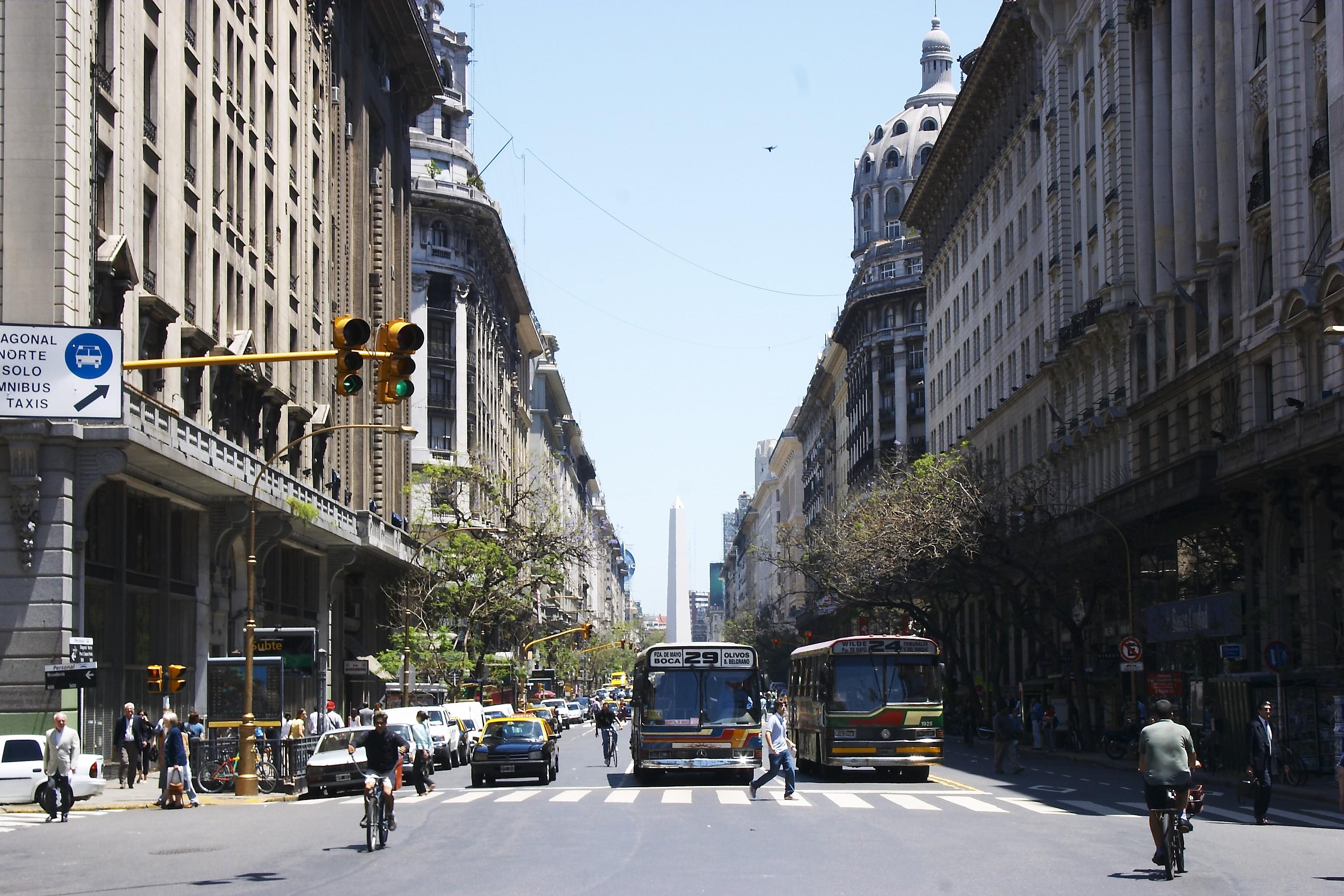9 La Julio Aires De La Route Argentine Du Large Monde Plus Buenos
