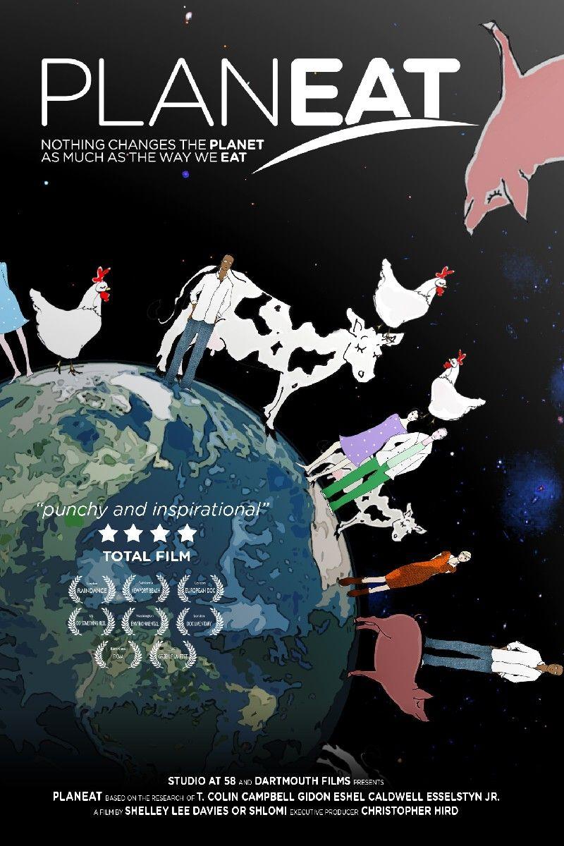 """Affiche du film """"Planeat"""""""
