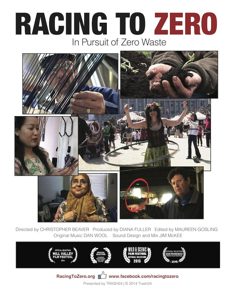 "Affiche du film ""Racing to zero"""