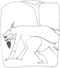 Homme loup grec