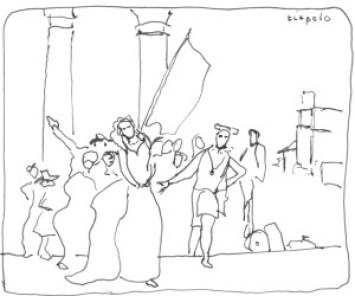 Tiepolo Henri III arrive a Contarini