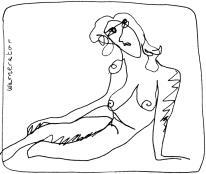 Warneator femme nu:woman study