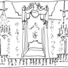 Chambre de la Reine Marie-Antoinette chateau de Versailles cour française histoire de la royauté histoire des femmes histoires de femmes
