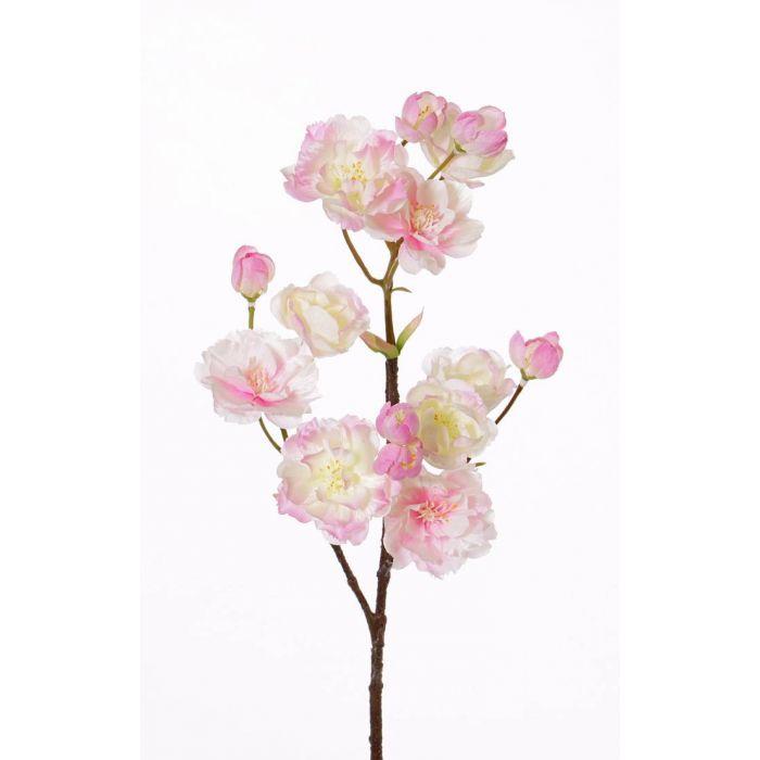 Acheter Des Branche De Fleurs De Cerisier Japonais En Tissu Shila Rose 55cm Faux Arbres