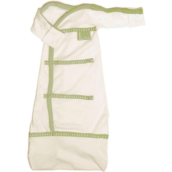 soft green bamboo organic baby Sleep pod