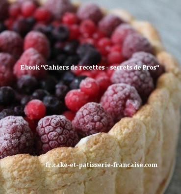 Recette de charlotte aux fruits rouges