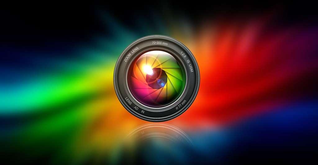 La photo numérique : du capteur à l'image. Ici, un objectif. © A S E F, Shutterstock