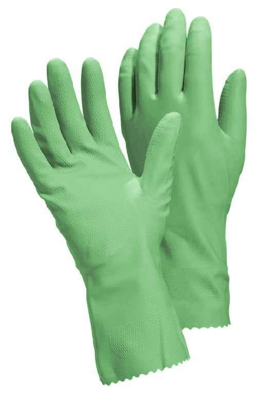 Pour le ménage, mieux vaut utiliser des produits naturels et des gants. © DR