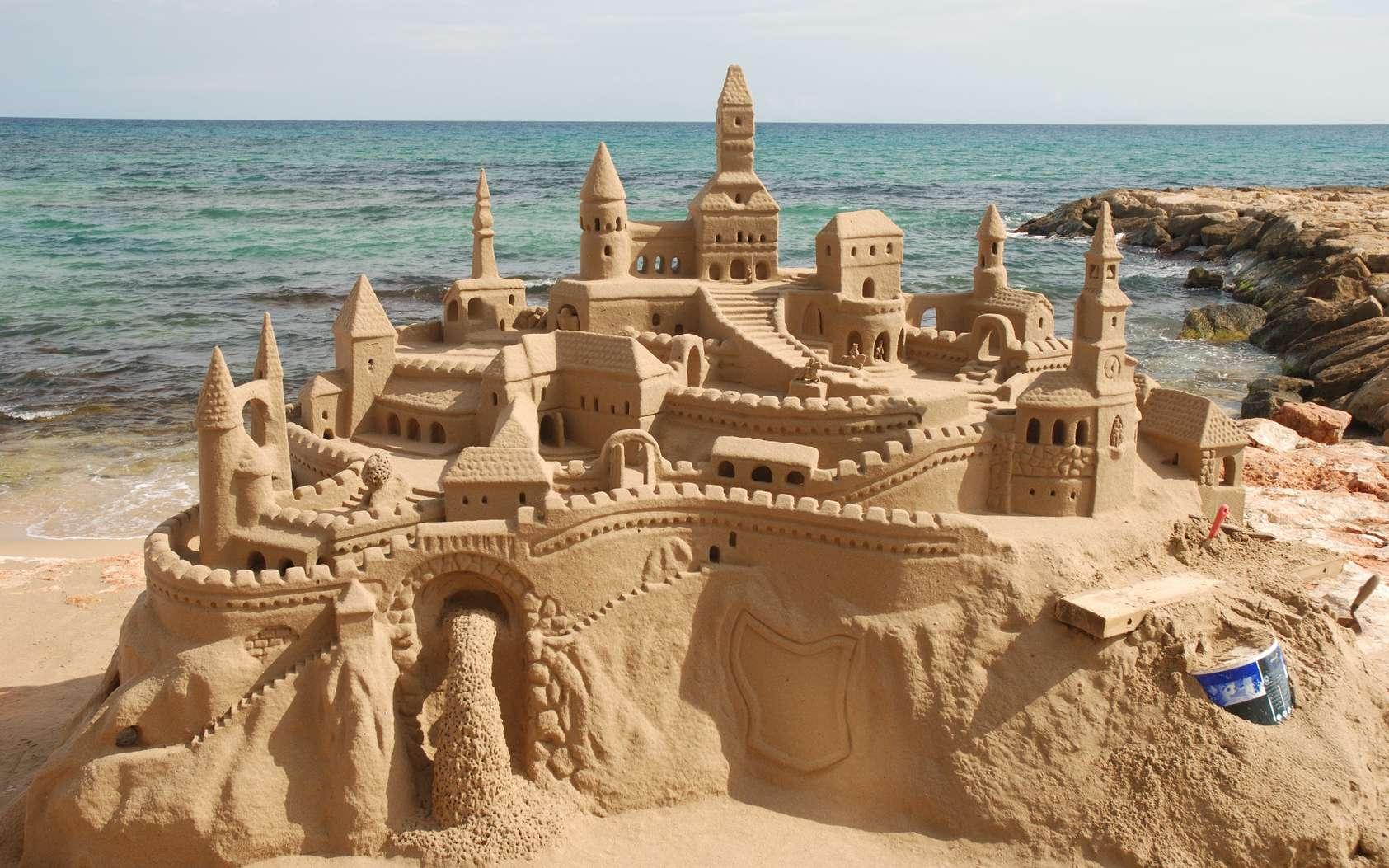 Comment Construire Le Parfait Chateau De Sable