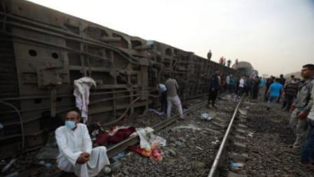 Égypte. Un train déraille,11 morts et une centaine de blessés