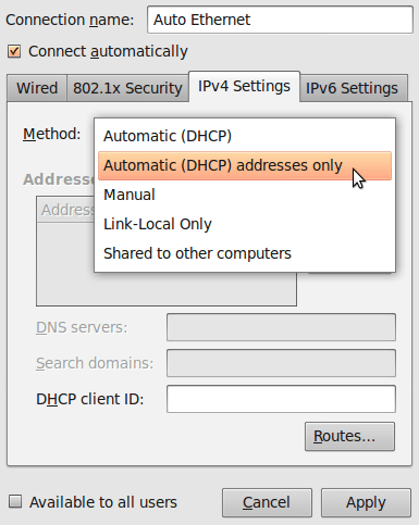 ContournerCensurev2 Domaines DNS DNS Ubuntu 03 fr old Censure du net: Voici comment continuer à visiter les sites interdits