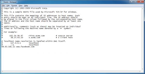 ContournerCensurev2 Domaines DNS resized 600x307 Hosts W7 9 fr old Censure du net: Voici comment continuer à visiter les sites interdits