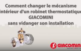 robinet thermostatique giacomini
