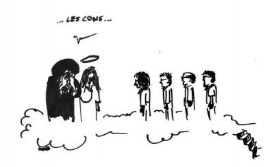 4 dessinateurs au paradis