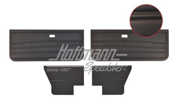 panneaux de portes golf 1 cabriolet noirs