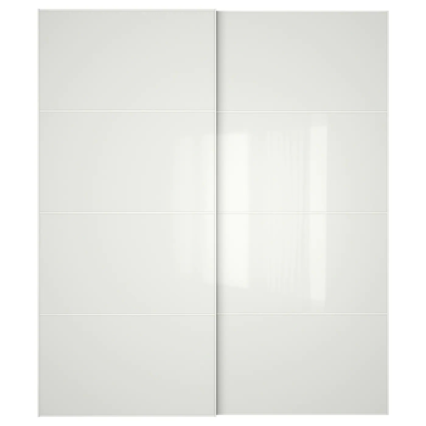Armoire Ikea Blanche 2 Portes Coulissantes Almoire