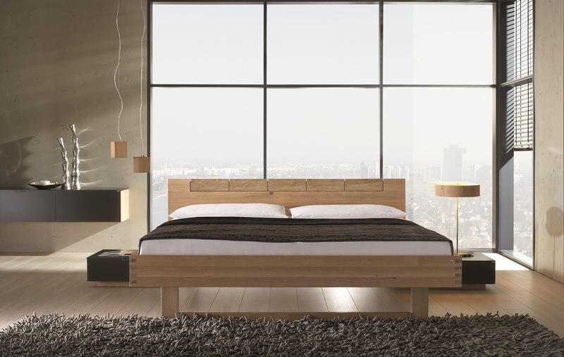le lit design en chene riviera