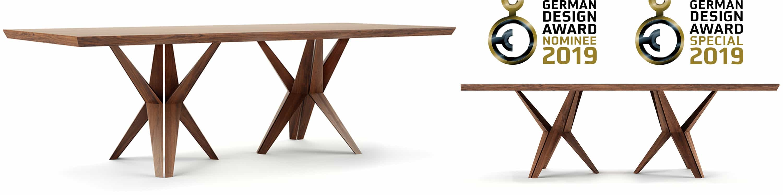 table salle a manger design luxe