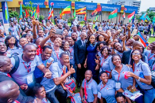 La Fondation Tony Elumelu et l'entrepreneuriat