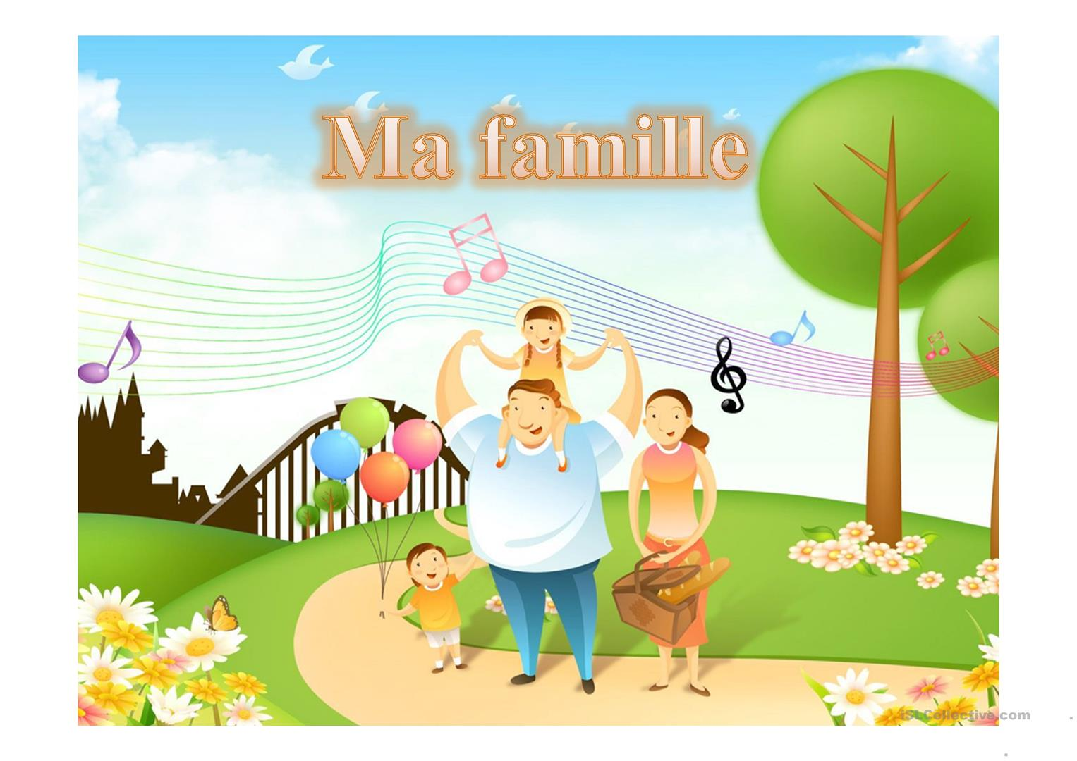 Ma Famille Fiche D Exercices