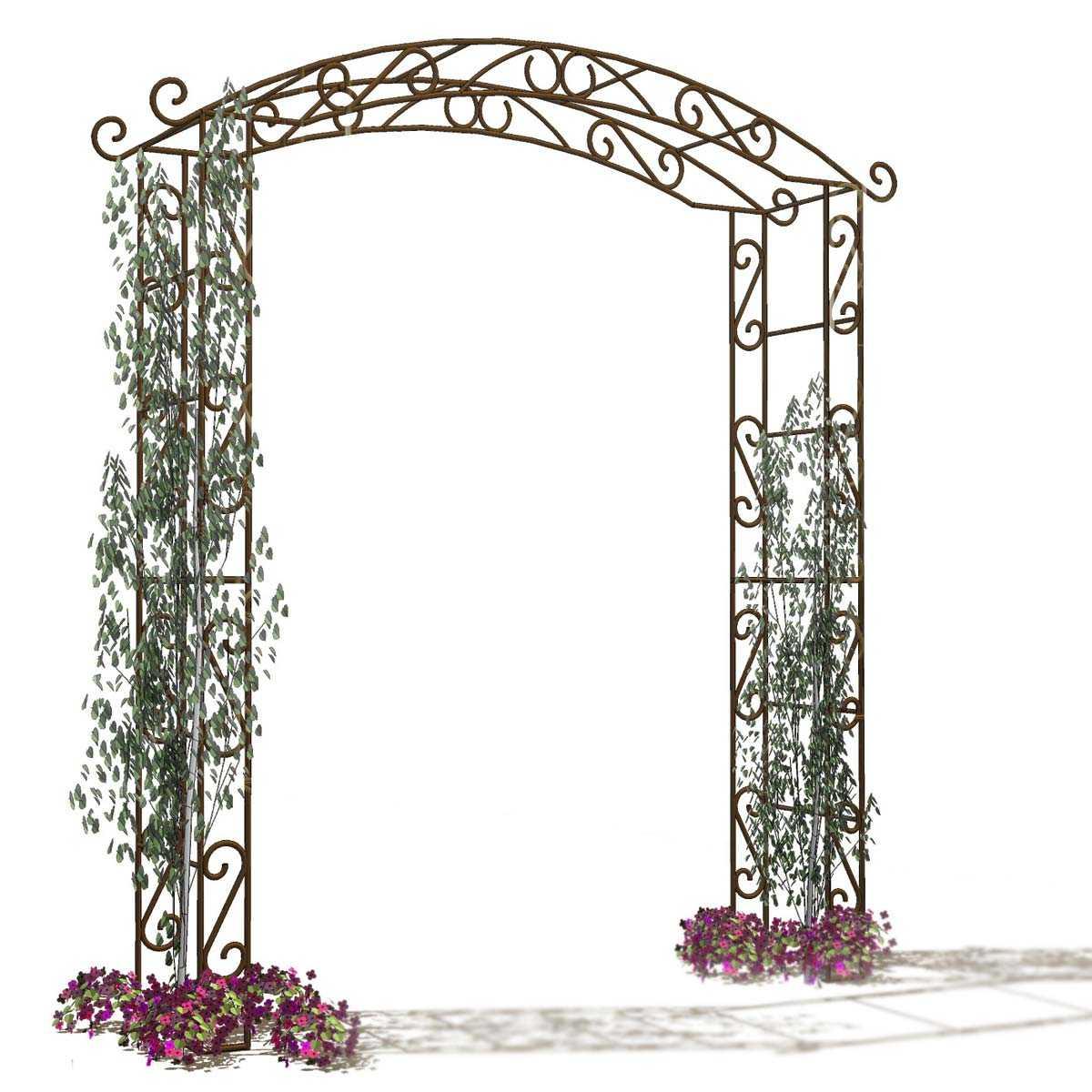 arche de jardin en fer pagode vente au meilleur prix jardins animes