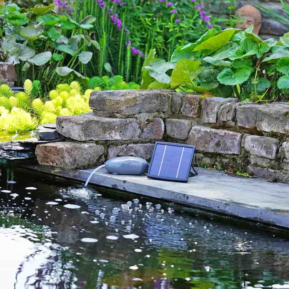 pompe d aeration solaire pour bassin