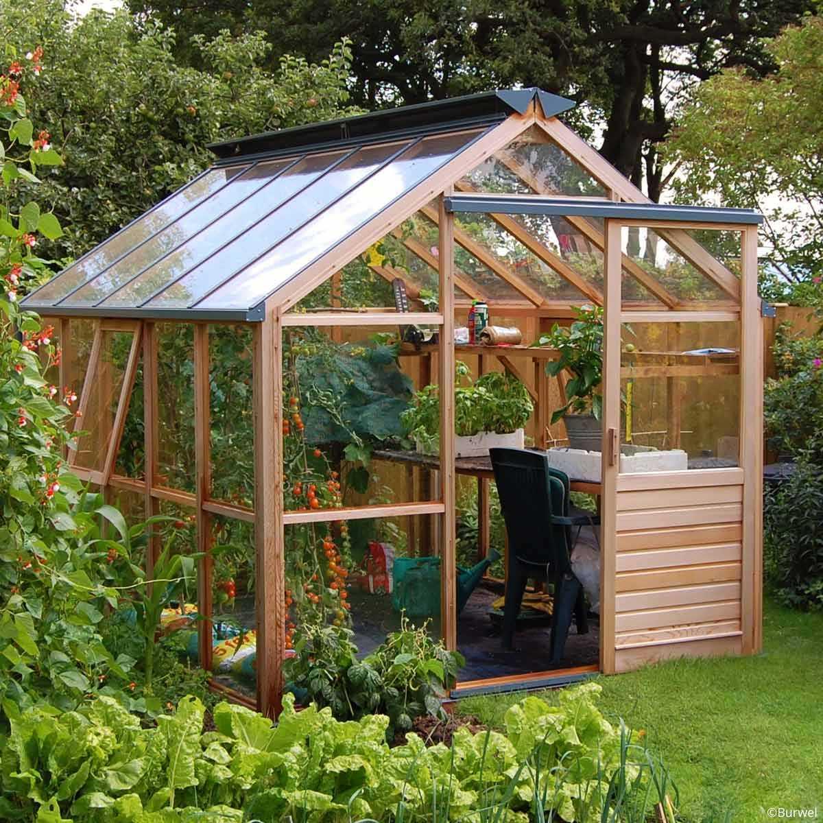 serre de jardin en bois classic eight gabriel ash 5 panneaux vente au meilleur prix jardins