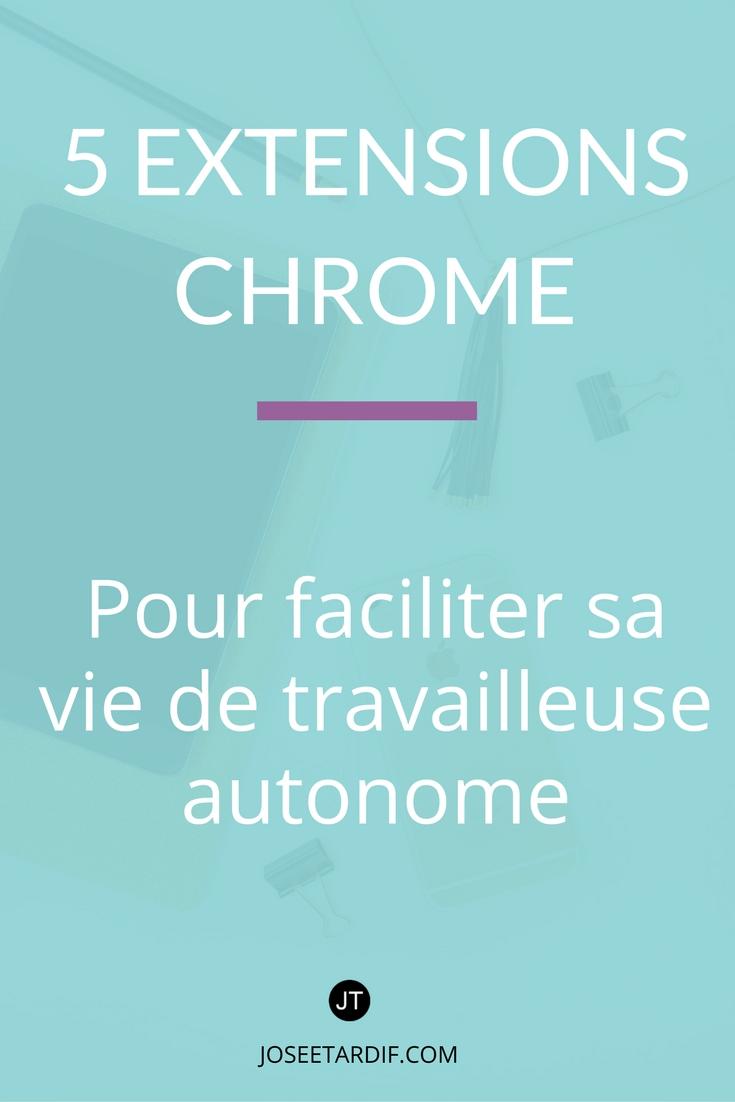 5 extensions Chrome pour gérer sa productivité