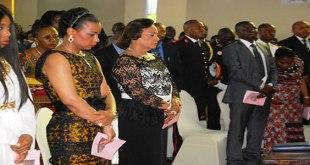 Olive LEMBA DI SITA, 1ere Dame de la RDC