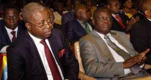 Adolphe MUZITO et G. Macomb, membres du PALU.