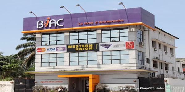 Photo de l'Immeubles de la BIAC, a Kinshasa.