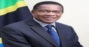 Phot de Bernard Membe, un politicien tanzanien