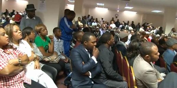 Photo des Patriotes de la Resistance congolaise de Londres.