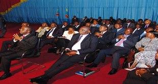 Photo des membres du gouvernement de la RDC.