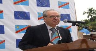 Photo du chef de la Délégation de l'Union européenne en RDC.