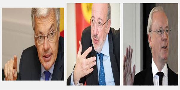 Photo des hommes politiques belges