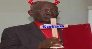 Photo. Mgr Pierre Marini Bodho