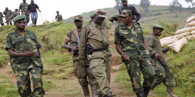 Photo des rebelles rwandais a l'Est de la RDC.
