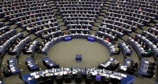 Députés européens, lors d'une Session au parlement européen.