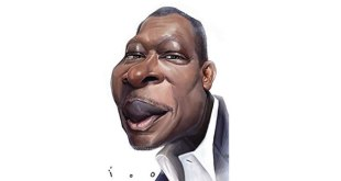 Caricature du president beninois.