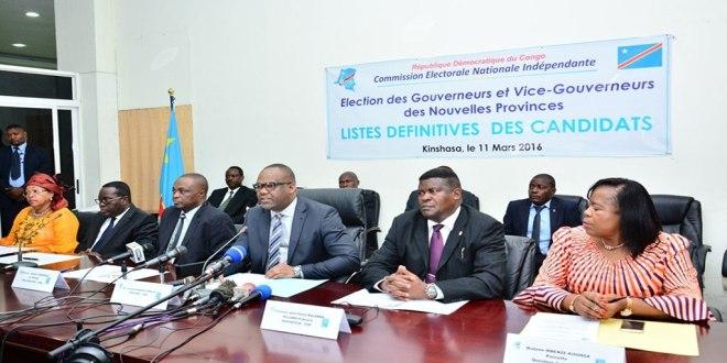 CENI RDC - Corneille Nangaa Yobeluo et son equipe