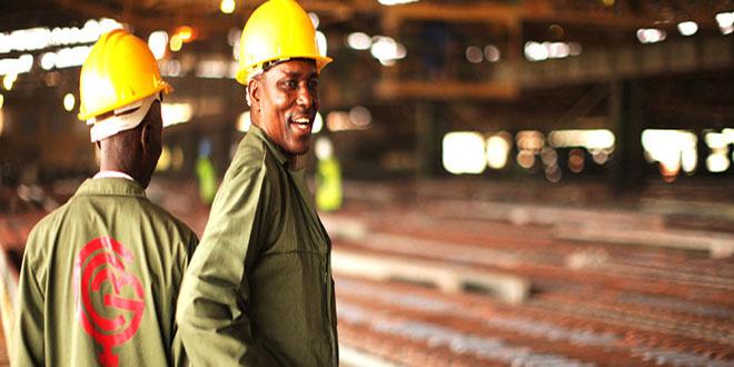 Les travailleurs de la Gécamines