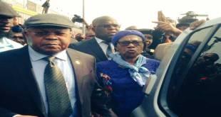 Etienne TSHISEKEDI, arrivée, Kinshasa, 27 Juillet 2016.