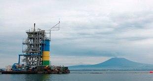 Première centrale électrique fonctionnant au gaz méthane dans le Lac Kivu.