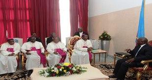 """""""Joseph KABILA"""" reçoit les les Evêques membres de la CENCO"""