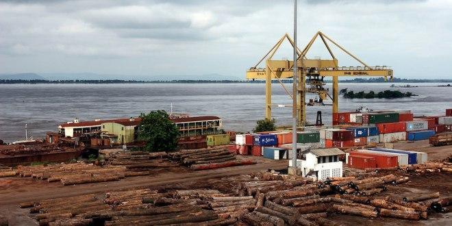 Port de matadi, Kongo Central, RDC.